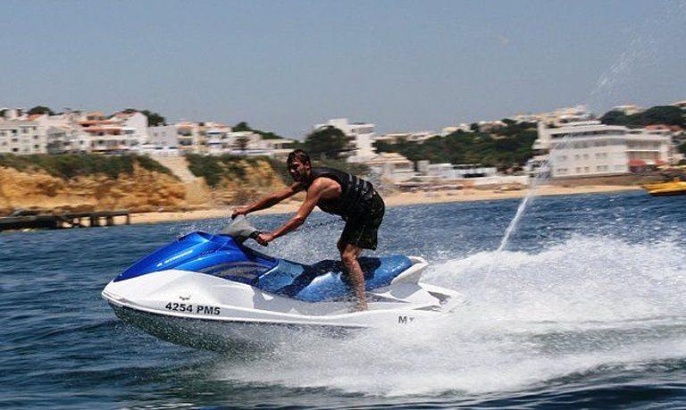 Jet ski from Albufeira