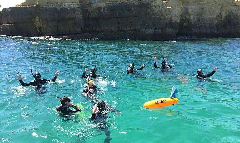 Snorkeling from Albufeira