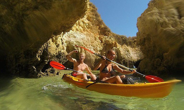 Kayak tour from Lagos