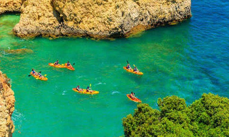 Vilamoura kayak tour