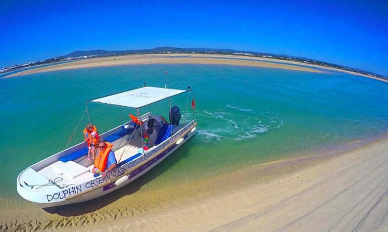 2 Hour boat tour in Ria Formosa