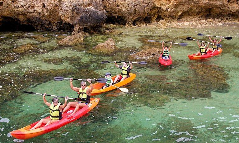 Boat + kayak tour to Ponta da Piedade