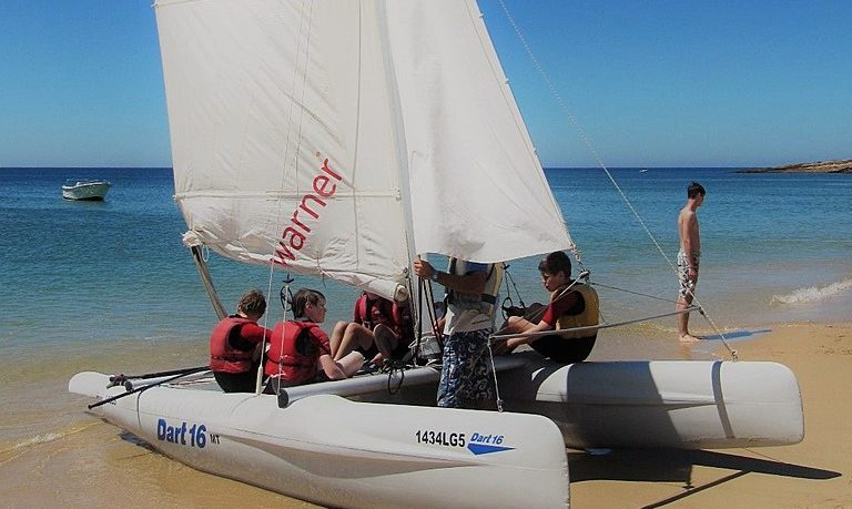 Learn sailing in Luz - Lagos