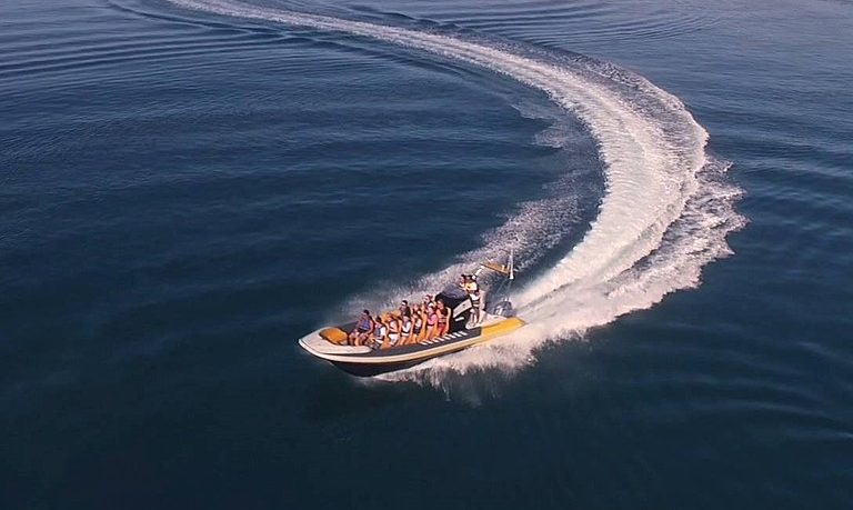 Boat trip from Praia da Luz to Sagres