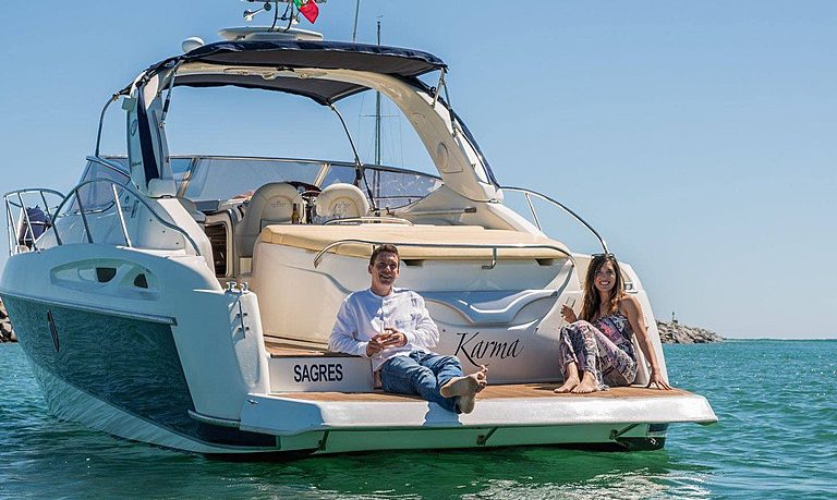 Luxury yacht rental in Lagos