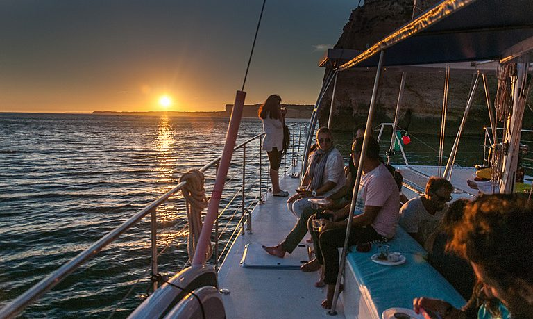Sunset wine cruise in Lagos