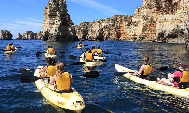 Lagos kayak tour