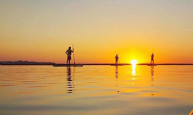Sunrise SUP tour to Benagil cave