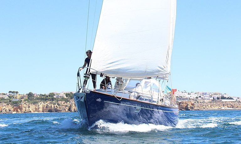 Half day sailing charter in Albufeira