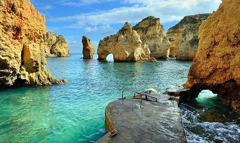Lagos grotto tour to Ponta da Piedade