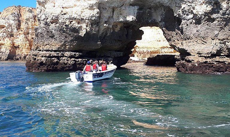 Ponta da Piedade Boat tour with time to swim