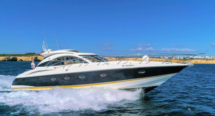 Full-day private cruise in Vilamoura