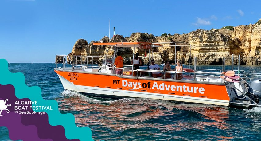 Algarve Boat Festival - private boat up to 14 pax