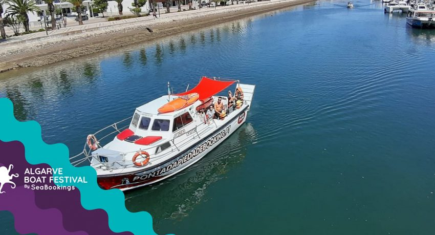 Algarve Boat Festival - shared boat up to 10 pax