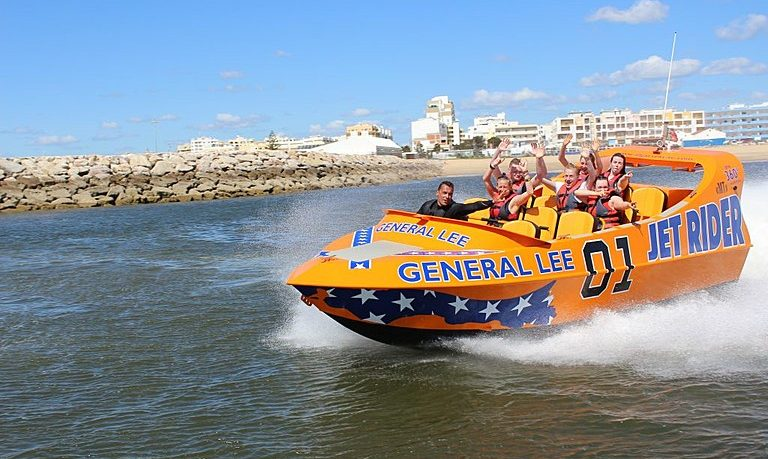 Fun jetboat in Vilamoura