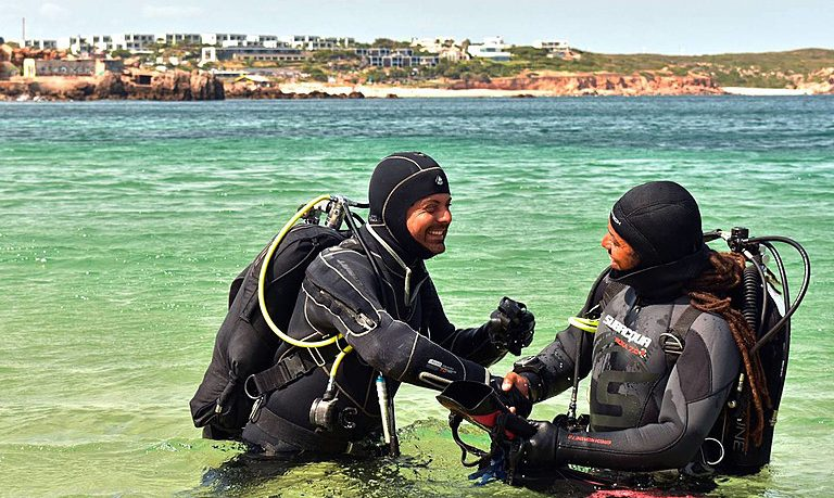 First time diving in Sagres
