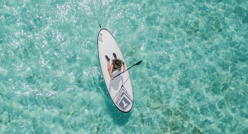 Stand-up paddle in Vilamoura